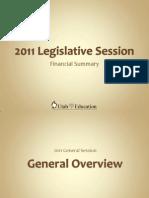 2011 Legislative Session UAPCS Presentation