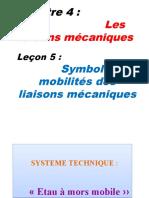 Chap 4 L5 Symboles et Mobilité des liaisons