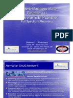Discoverer & BI Publisher