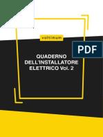 Quaderno Dell'Installatore Elettrico Vol.2