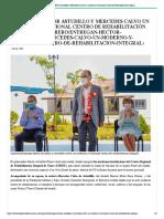 14-07-2021 Entregan Héctor Astudillo y Mercedes Calvo un moderno y funcional Centro de Rehabilitación Integral
