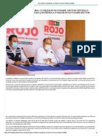 03-09-2021 Para enfrentar la pandemia, lo mejor es vacunarse_ Héctor Astudillo