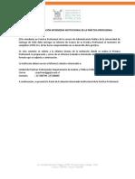 Pauta de Evaluación Intermedia (Institucion)