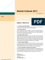 BnP - Market Outlook 2011