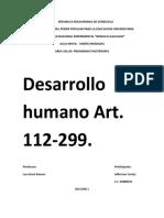 articulo 112 -299