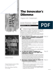 Innovator's dilemna - Synthèse