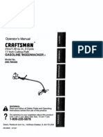 Craftsman Gas Weedwacker L0805236