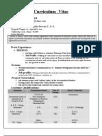 R KUMAR' S CV[1]