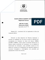 Decisión Corte Suprema - Aníbal Gaviria