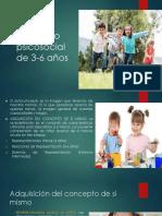 1.3 Desarrollo psicosocial de 3-6 años