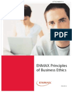ENMAX Principles of Business Ethics