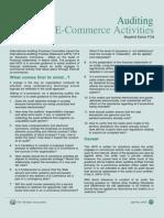 E-Commerce Auditing