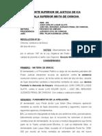 2009-404 JUAN C. LUQUE - AMPARO SOLARI