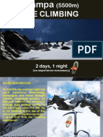Qampa Ice Climbing 2 days 1 night