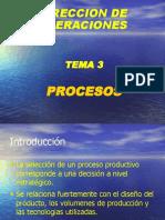 Direccion de Operaciones Procesos