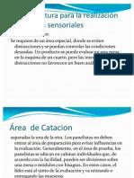 Instalaciones Locativas en analisis sensorial