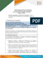 Guía de Actividades y Rúbrica de Evaluación - Unidad 1- Fase 2 - Identificación de Los Principios de La Contratación Pública en Colombia (1)