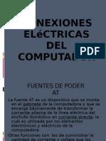 Conexiones eléctricas del computador