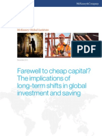 12.6.10 McKinsey Global Institute, Farewell to cheap capital