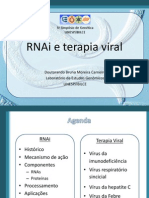 Apresentação simpósio microbiologia - RNAi