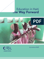 Education in Haiti - The Way Forward - FINAL - 9-15-08