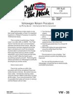 Volkswagen Relearn Procedure