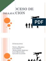 EL PROCESO DE SELECCION