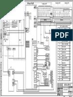 Схема принципиальная шкаф ТКШ Тип 1