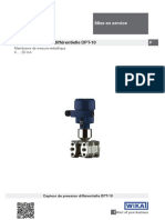 WIKA Operating Instructions Differential Pressure Transmitter DPT 10 10-4-20ma Fr Fr