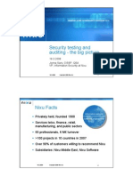 Sec 3 Security testing and auditing - the big picture JonnaSars Nixu