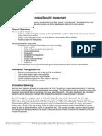 Security Assessment vs Penetration Testing