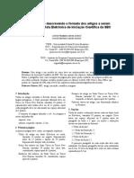 Modelo de Estilo para Artigo Científico