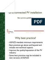 PV Best Practice