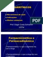3oANO.FARMACO.AULA - Anti arritmicos Dr. Edgar 1 - 2006