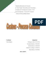 trabajo de costos por proceso continuo