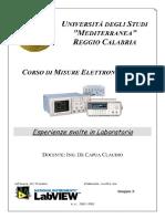 Tesina del Laboratorio di Misure elettriche ed elettroniche