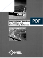 Solar Radiation Data Manual