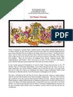 Today Sri Rama Navami