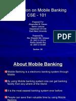 Presentation of Mobile Banking