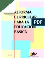 Libro base de la Reforma Curricular de Educación Básica