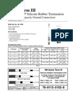 3M - Quick Term III - Instruction Sheet