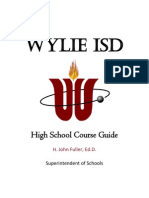 Wylie High Course Guide1