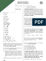 Lista de revisão MAT I - Semana 11.04 - 22-04 2011