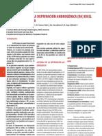 derivacion androgenica para cancer prostata