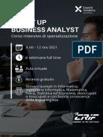 Brochure SMART UP Business Analyst