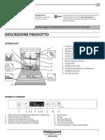 Hotpoint-Ariston HI 5030 W Dishwasher