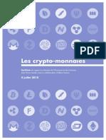 Synthèse du rapport Landau_Crypto