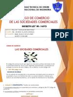 CODIGO DE COMERCIO GRUPO 5