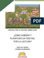¿CÓMO DISEÑAR Y PLANIFICAR UN FESTIVAL POR LA LECTURA_
