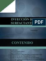 inyección de surfactantes